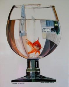 2014, ECCOVI AD AREZZO, acrilico su plexiglass, 40 x 50