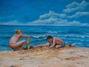 7 - Bambini al mare