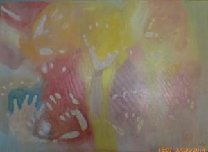 Impronte - olio su tela - 70X50