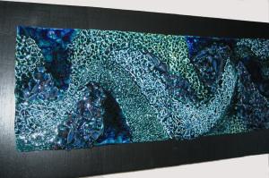 2)  ONDE - 3° classificato al Concorso Premio DERUTA ''Ceramica D'Arte Contemporanea''