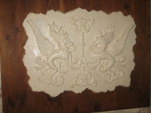 9)  Bassorilievo selezionato per la mostra al Museo della Ceramica di Deruta  ''Arte e Artigianato un omaggio a Deruta''