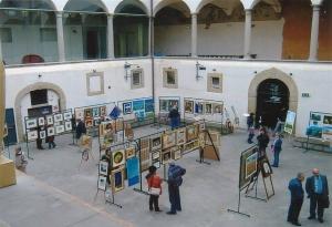 ARTISTI NEL CHIOSTRO