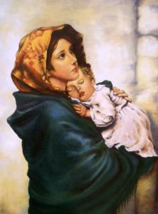 Madonna della Strada - 50x40 - olio su tela