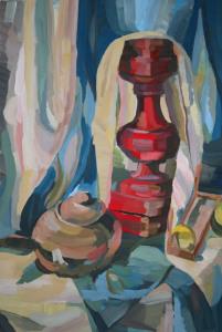 Prove di Espressionismo - 80x60 - acrilico su tela copia