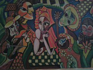 Carnevale - Olio su tela - 70x50