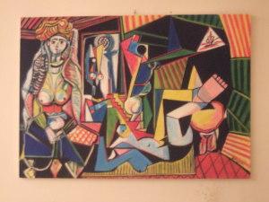 Donne d'Algeri - misto olio-acrilico 100x70