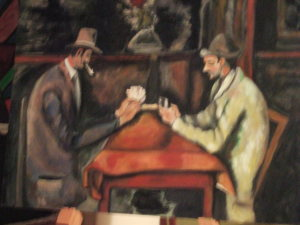 Giocatori di carte - olio su tela 60x40