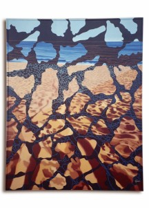 10 ARCIPELAGO MARE - 2012 (Vocabolario 2) - Olio su tela - 80x100 (Copia)